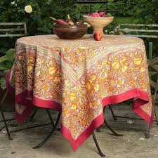 can you put a rectangle tablecloth on a round table couleur nature jardine rectangle tablecloth free shipping today