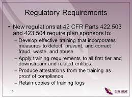 medicare advantage u0026 part d compliance training ppt download