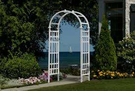 wedding arbor ebay vinyl arbors arbor fence inc a diamond certified company