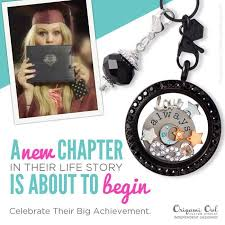 origami owl graduation locket 70 best graduation gifts school spirit jewelry images on
