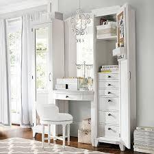 mirrored bedroom vanity table hton vanity tower super set pbteen