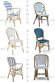 Outdoor Bistro Chairs French Bistro Chair Round Up Effortless Style Blog