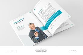 chairman s annual report template annual report 40 pages brochure templates creative market