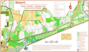 Dupage County Map Waterfall Glen West March 11th 2007 Orienteering Map From