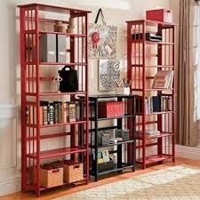Folding Bookshelves - stackable bookcases foter