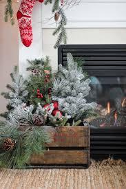 January Decorations Home Best 25 Christmas Greenery Ideas On Pinterest Farmhouse Holiday