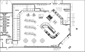 Convenience Store Floor Plans by 3000 Sqft Layouts Shopco U S A Inc