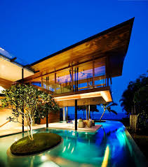 eco friendly luxury residence in singapore lets nature become a