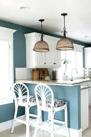 wall paint ideas for kitchen blue color kitchen cabinets thelodge club