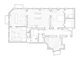 19th Century Floor Plans Century Stockholm Apartment Renovation By Note Design Studio