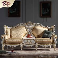 European Living Room Furniture 2018 Baroque Living Room Furniture European Classic Sofa Set With