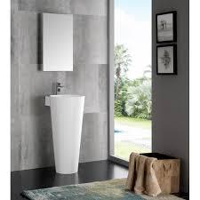 Bathroom Vanity Medicine Cabinet Fresca Fvn5022wh Messina 16