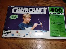 vintage ideal chemcraft 400 experiments chemistry set new in box