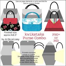 new purse templates digishoptalk digital scrapbooking