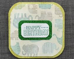 animal birthday card etsy