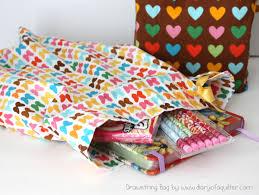 Ideas For Christmas Fat Quarters by Fat Quarter Drawstring Bag Tutorial