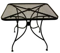 Wrought Iron Patio Furniture by Patio Metal Patio Table Design Ideas Aluminum Patio Tables