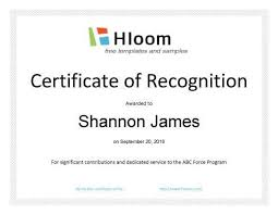 examples of award certificates 9 award certificate examples free