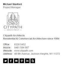 architect signature email signatures for architects