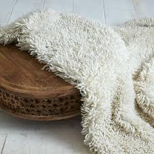 Best Way To Clean Shaggy Rugs Darby Wool Shag Rug West Elm