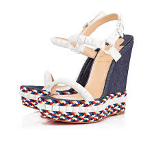 get discount christian louboutin shoes for women wedges london
