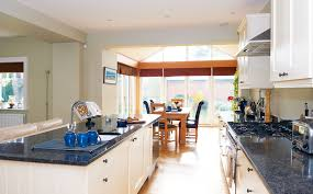 a light filled kitchen extension with a glass roof real homes
