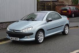 peugeot 206 2016 used peugeot 206 convertible for sale motors co uk