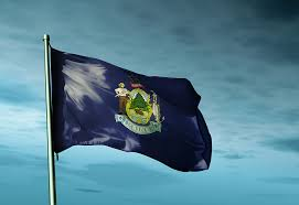 Maine State Flag Tenth Amendment Center Blog Now In Effect Maine Law Prohibits