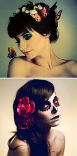 Halloween Makeup Day Of The Dead by Mr Kate Whimsical Halloween Costume Inspiration
