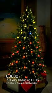 itwinkle tree ge pre lit lights decoration