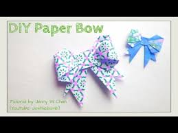 bow wrapping paper easter crafts paper bow origami bow how to make a ribbon bow
