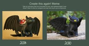 Toothless Meme - create this again meme by strecno on deviantart