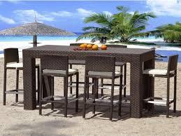 Patio Bar Height Dining Set - bar style patio sets x666 cnxconsortium org outdoor furniture