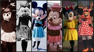 minnie mouse and daisy duck halloween costume evolution of minnie mouse in disney theme parks distory ep 6