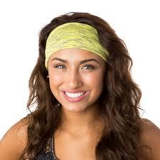 hipsy headbands hipsy unisex adjustable spandex xflex space dye yellow headband