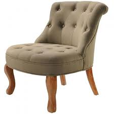 siege capitonné fauteuil crapaud capitonne taupe venise achat vente fauteuil