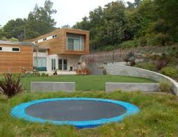 Backyard Sport Courts by Backyard Sport Court Pictures Gallery Landscaping Network