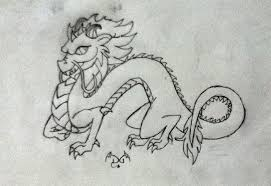 chinese dragon lineart darkdragon770 deviantart