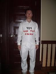 Meme Halloween Costume - 404 page not found costume halloween know your meme