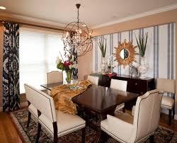 gold sunburst mirror dining room table centerpiece