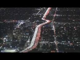 thanksgiving traffic jam los angeles 405 freeway