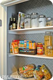 How To Organize A Pantry With Deep Shelves by Pbjstories Kitchen Pantry Reveal
