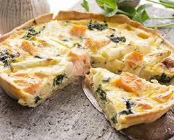 cuisiner le brocolis frais recette tarte au saumon et brocoli