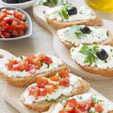 Cottage Cheese Dishes by Appetizers Crostini With Cottage Cheese Recipe Recipe4living
