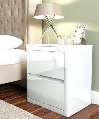 bedside table amazon side table white gloss bedside cabinets amazon white high gloss