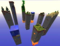 Survival Maps Chunky Lands 1 6 X U0026 1 7 X Survival Map Maps Mapping And