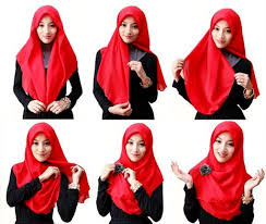 simple hijab styles tutorial segi empat are you hijab beginner try this one to look modest girls hijab