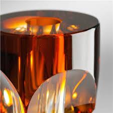 20 Glass Vase Lenses 20 Art Glass Vase Amber