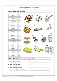 house vocabulary in spanish worksheets u2026 spanish class ideas