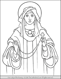 lady lourdes coloring lady guadalupe coloring